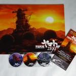 宇宙戦艦ヤマト原画展のパンフレットと特典缶バッジ